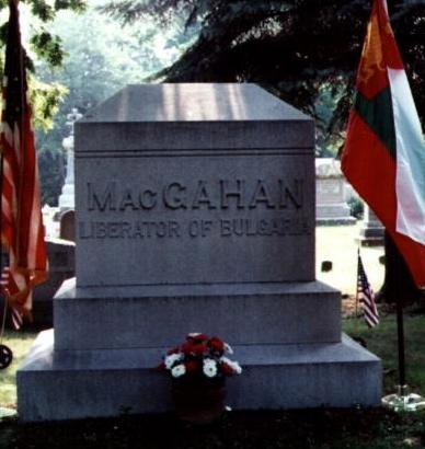 MacGahan tombstone