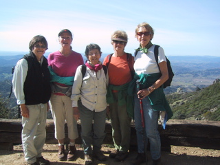 AAUW on Mt. St. Helena