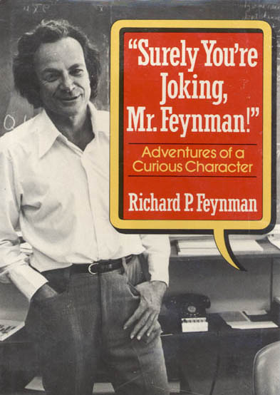 Feynman joking book