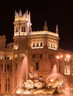 Madrid's Plaza de Cibeles