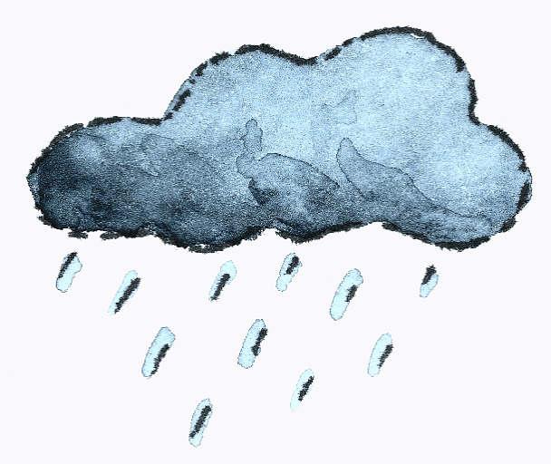 Rain cloud animation - photo#3