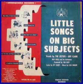 little-songs-on-big-subjects