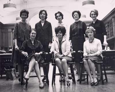 HBS women -- 1963