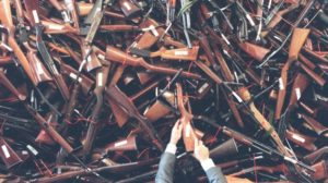 About 700,000 guns were handed in to Australia's buyback nearly 20 years ago. Photo: Dean Sewell
